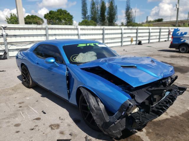 Vehiculos salvage en venta de Copart Miami, FL: 2015 Dodge Challenger