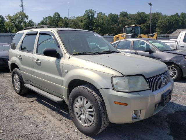 Mercury salvage cars for sale: 2005 Mercury Mariner