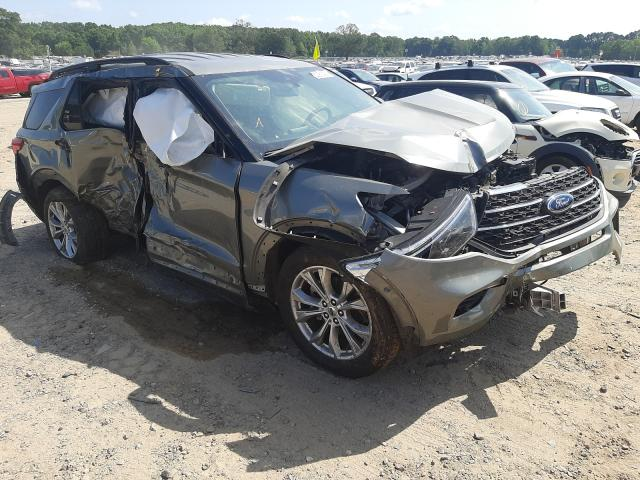 Salvage cars for sale at Conway, AR auction: 2020 Ford Explorer X
