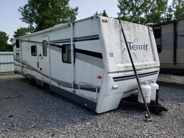 Fleetwood salvage cars for sale: 2006 Fleetwood Terry