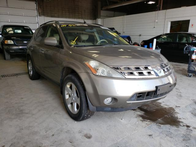 Salvage cars for sale from Copart Blaine, MN: 2004 Nissan Murano SL