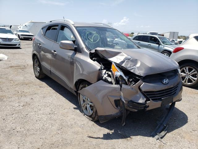 Salvage cars for sale at Tucson, AZ auction: 2011 Hyundai Tucson GLS