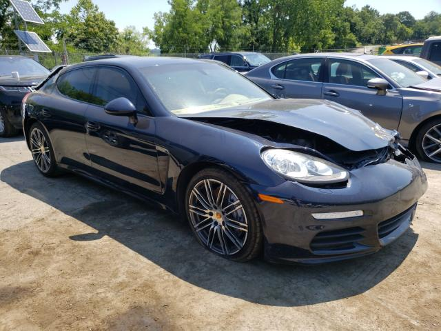 Salvage cars for sale from Copart Marlboro, NY: 2016 Porsche Panamera 2
