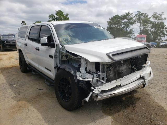 Salvage cars for sale from Copart Marlboro, NY: 2020 Toyota Tundra CRE