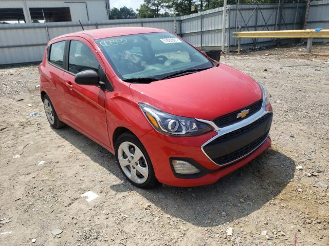Salvage cars for sale from Copart Florence, MS: 2019 Chevrolet Spark LS
