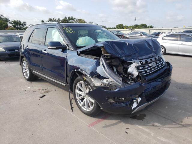 Vehiculos salvage en venta de Copart Wilmer, TX: 2017 Ford Explorer L