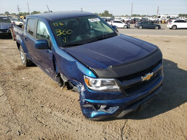 Salvage cars for sale at Nampa, ID auction: 2019 Chevrolet Colorado Z