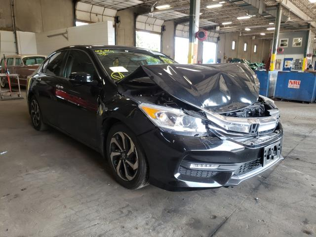 Salvage cars for sale from Copart Blaine, MN: 2016 Honda Accord EX