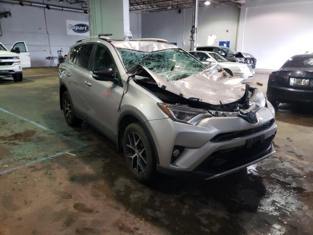 Salvage cars for sale from Copart Atlantic Canada Auction, NB: 2016 Toyota Rav4 SE