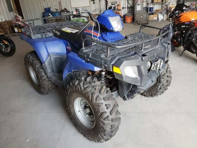 Salvage cars for sale from Copart Duryea, PA: 2005 Polaris Sportsman