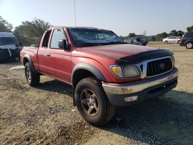 Toyota salvage cars for sale: 2002 Toyota Tacoma XTR