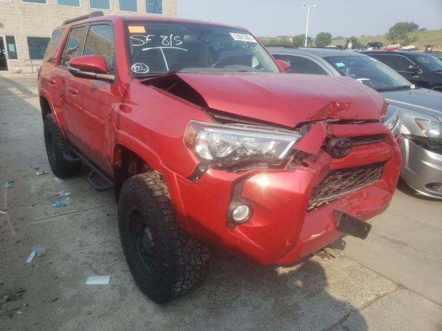 Toyota salvage cars for sale: 2018 Toyota 4runner SR