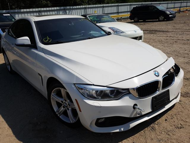 Salvage cars for sale from Copart Glassboro, NJ: 2015 BMW 428 XI
