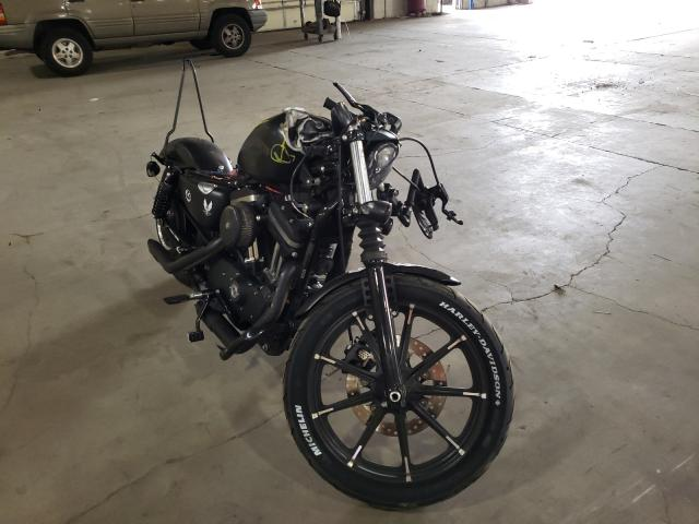 Salvage cars for sale from Copart Woodburn, OR: 2017 Harley-Davidson XL883 Iron