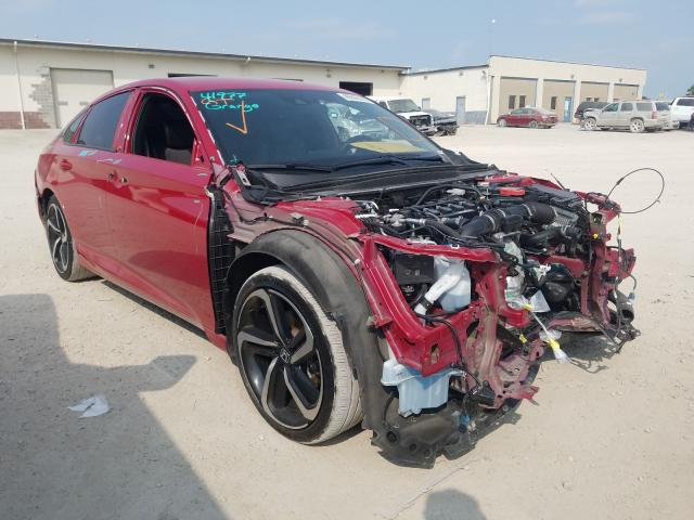 Salvage cars for sale at Indianapolis, IN auction: 2020 Honda Accord Sport