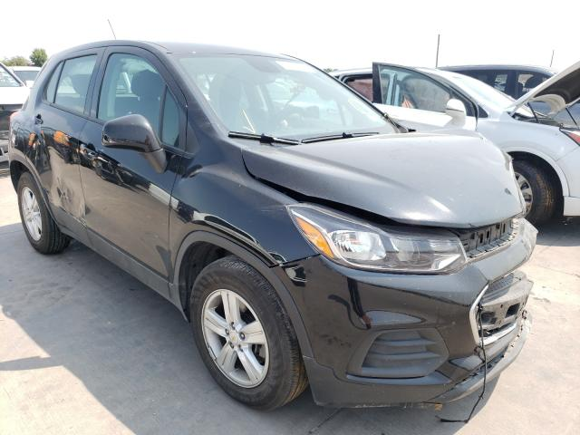Salvage cars for sale from Copart Grand Prairie, TX: 2020 Chevrolet Trax LS