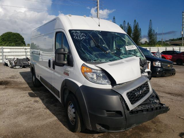 Salvage cars for sale from Copart Miami, FL: 2019 Dodge RAM Promaster