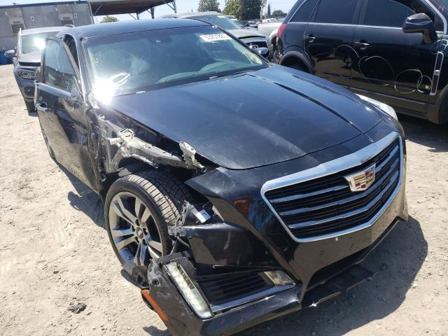 Salvage cars for sale from Copart Los Angeles, CA: 2015 Cadillac CTS Vsport
