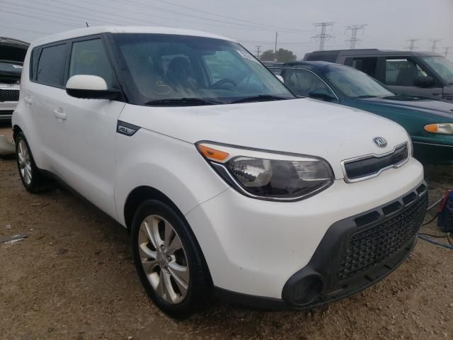 Salvage cars for sale at Elgin, IL auction: 2015 KIA Soul +