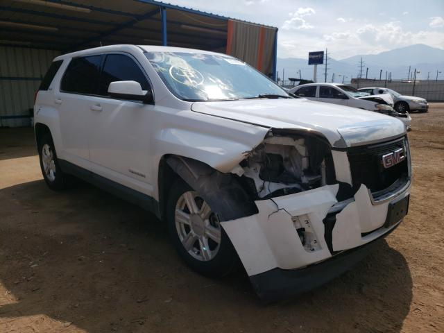 Salvage cars for sale from Copart Colorado Springs, CO: 2015 GMC Terrain SL