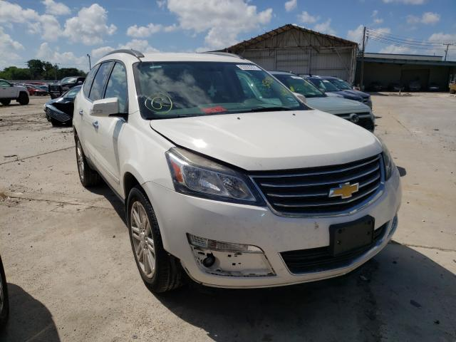 Salvage cars for sale from Copart Corpus Christi, TX: 2015 Chevrolet Traverse L