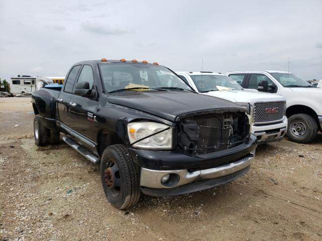 Salvage cars for sale from Copart San Antonio, TX: 2008 Dodge RAM 3500 S
