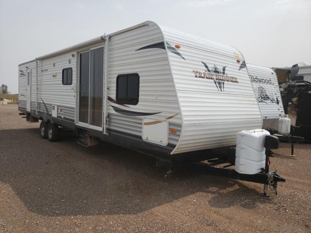 Salvage cars for sale from Copart Billings, MT: 2012 Heartland Trail RUN