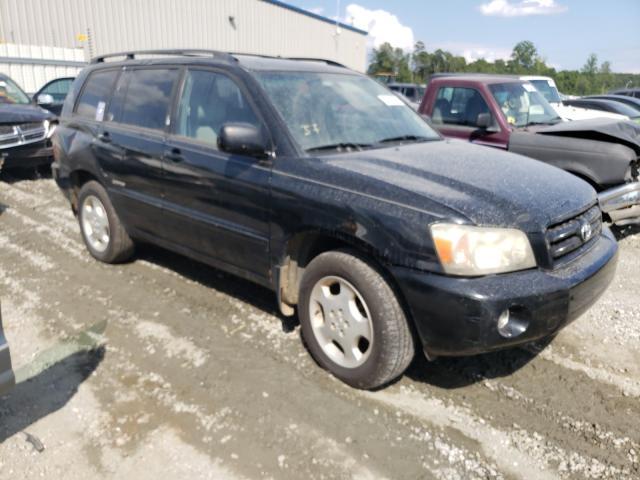 Vehiculos salvage en venta de Copart Spartanburg, SC: 2006 Toyota Highlander