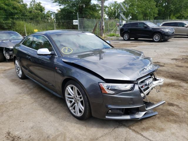 Salvage cars for sale from Copart Marlboro, NY: 2016 Audi S5 Premium