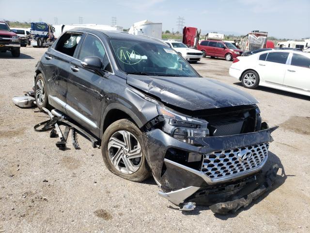 Salvage cars for sale at Tucson, AZ auction: 2021 Hyundai Santa FE S