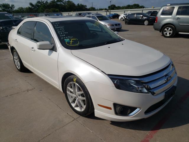 Vehiculos salvage en venta de Copart Wilmer, TX: 2012 Ford Fusion SEL