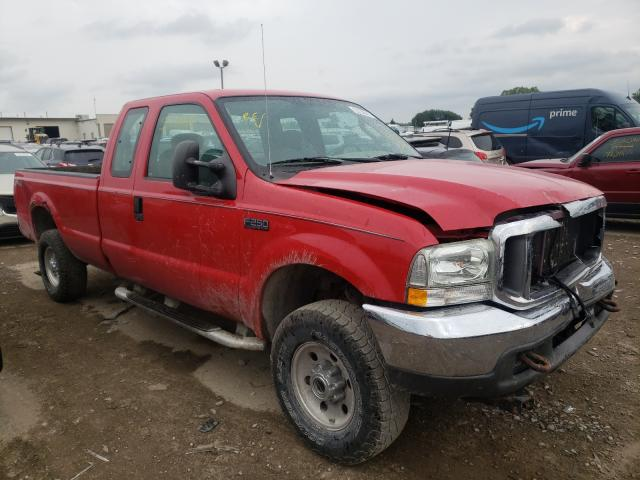 Salvage cars for sale from Copart Indianapolis, IN: 2004 Ford F250 Super