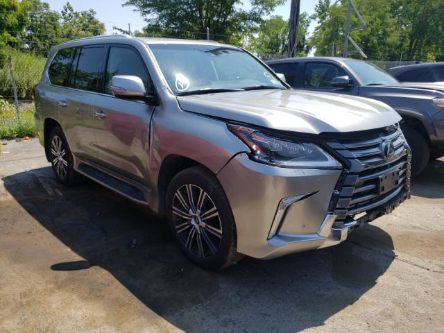 Salvage cars for sale from Copart Marlboro, NY: 2021 Lexus LX 570