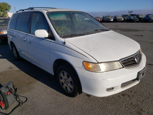 Honda Odyssey salvage cars for sale: 2001 Honda Odyssey
