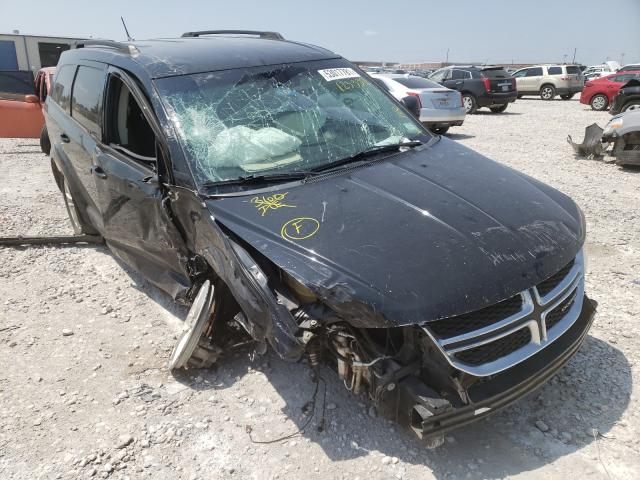 Salvage cars for sale from Copart Haslet, TX: 2016 Dodge Journey SX