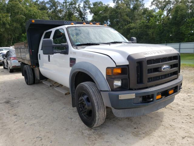 Salvage cars for sale from Copart Ocala, FL: 2008 Ford F450 Super