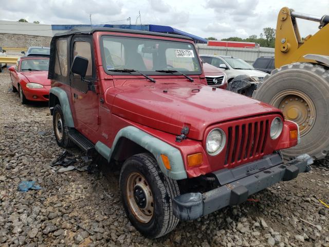 Jeep Wrangler salvage cars for sale: 1998 Jeep Wrangler