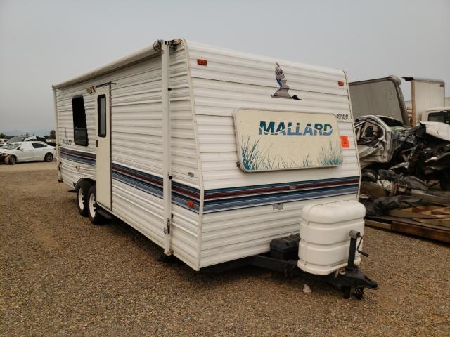 Mallard salvage cars for sale: 1996 Mallard Travel Trailer