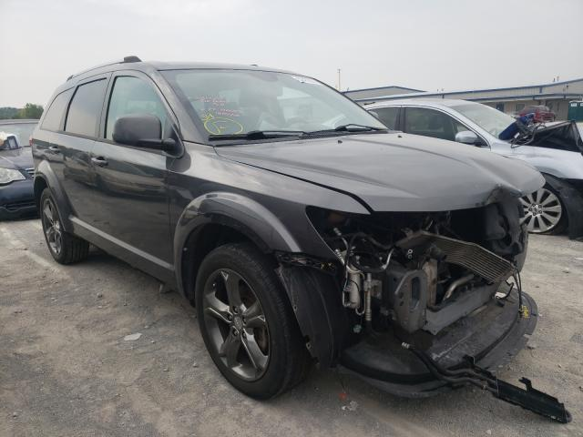 Salvage cars for sale from Copart Alorton, IL: 2015 Dodge Journey CR