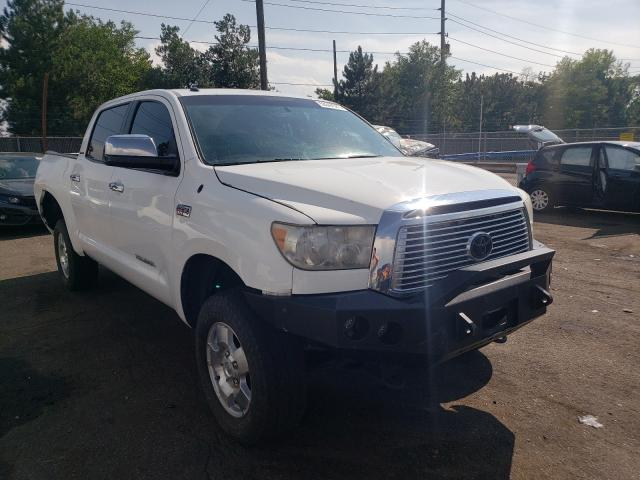 Salvage cars for sale from Copart Denver, CO: 2010 Toyota Tundra CRE