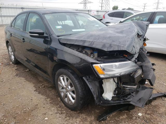 Volkswagen salvage cars for sale: 2012 Volkswagen Jetta SE