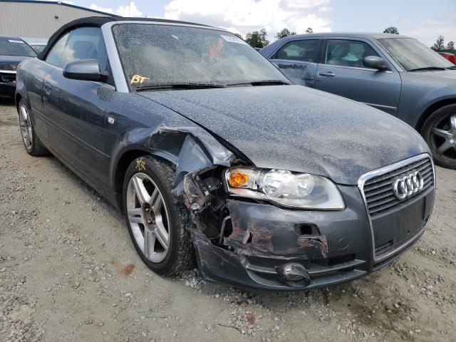 Vehiculos salvage en venta de Copart Spartanburg, SC: 2008 Audi A4 2.0T CA