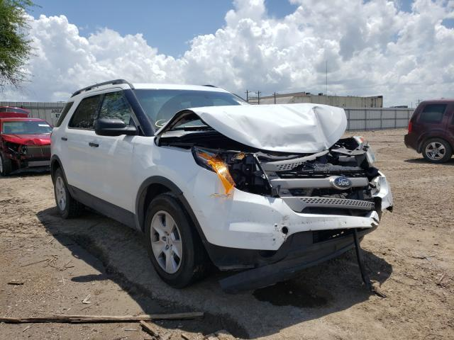 Salvage cars for sale from Copart Mercedes, TX: 2013 Ford Explorer