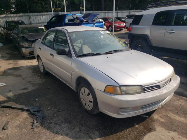 Salvage cars for sale from Copart Austell, GA: 2000 Mitsubishi Mirage