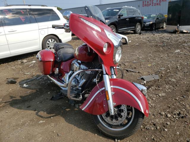 Salvage cars for sale from Copart Cudahy, WI: 2018 Indian Motorcycle Co. Chieftain