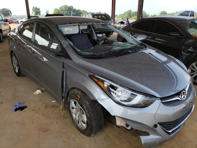 Salvage cars for sale from Copart Tanner, AL: 2016 Hyundai Elantra SE