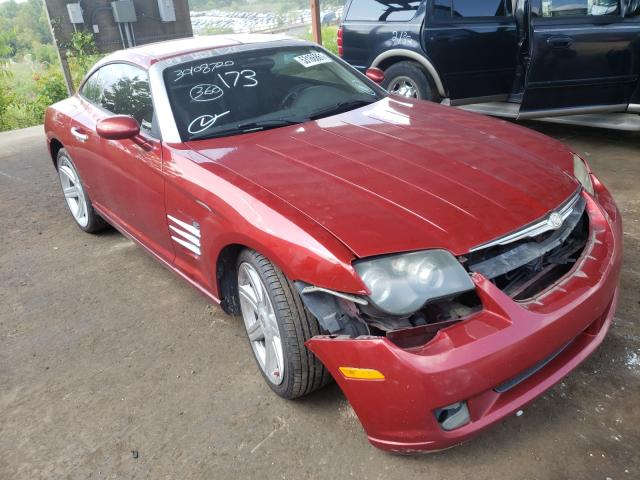Chrysler Crossfire salvage cars for sale: 2007 Chrysler Crossfire