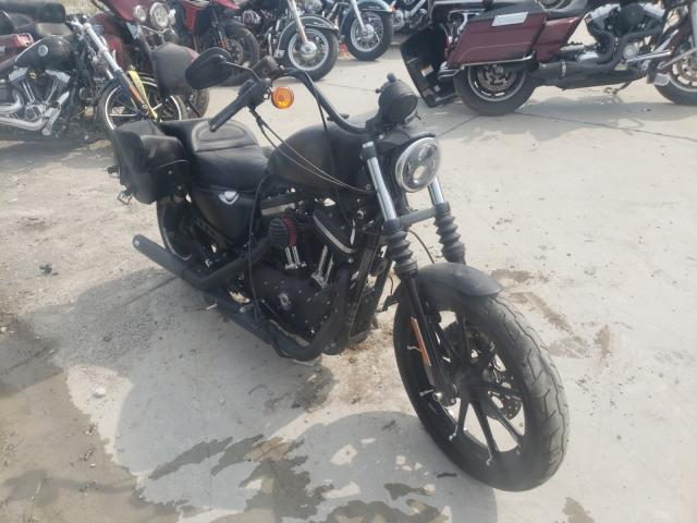 Salvage cars for sale from Copart Alorton, IL: 2020 Harley-Davidson XL883 N