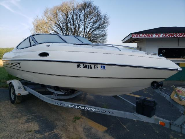 Salvage cars for sale from Copart Concord, NC: 1998 Stingray Boat CX200