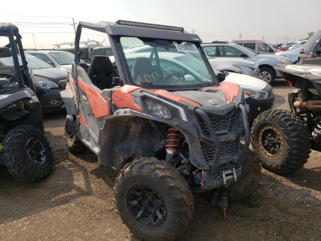 Salvage cars for sale from Copart Brighton, CO: 2019 Can-Am Maverick T